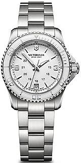 Victorinox - Maverick Reloj para Mujer Analógico de Cuarzo con Brazalete de Acero Inoxidable V241699