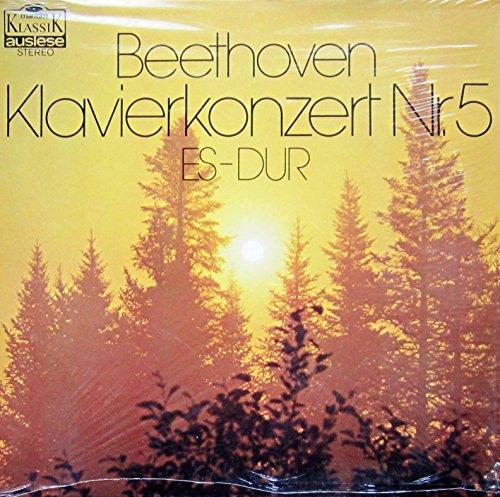 Beethoven: Klavierkonzert Nr. 5 Es-dur [Vinyl LP] [Schallplatte]