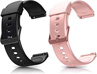 Letsfit ID205L Smart Watch Bands, Adjustable Smartwatch Replacement Straps for ID205L Sport Watch, Replacement Accessory B...