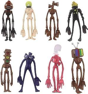 ZYDSGGLSiren Head Toys Action Figure Model Doll ,Gift for Kids 8Pcs/Set