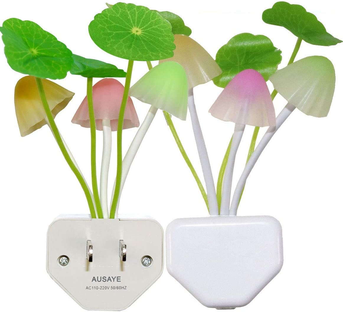 2 Pack Led Night Light w Dusk Sensor Dawn Plug-in 0.6W to Max 64% OFF Cheap mail order sales AUSAYE