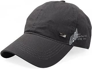 Vadeytfl Baseball Cap Summer Outdoor Climbing Sports Cap Sunscreen UV Sun Hat Golf Cap (Color : Gray)