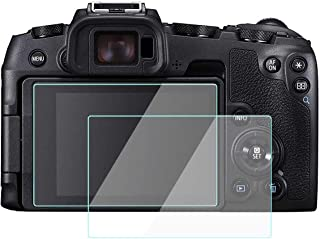 KOMET Glass Screen Protector Foils Compatible for Canon EOS RP LCD Screen, Tempered Glass Film Anti-Bubble Anti-Scratch Anti-Finger for Canon eos rp Mirrorless Digital Camera (2 Pack)