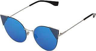 Sky Vision Cat Eye Sunglasses for Women, Blue Lens, OF83384