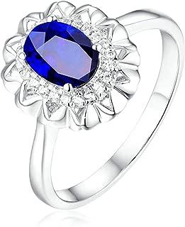 Homme Anniversaire De Mariage En Acier Inoxydable Bleu Grès Ring Band 8 mm Taille 6-10