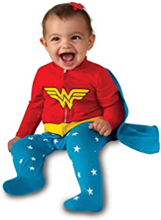 Costume Baby Girl's DC Comics Superhero Style Baby Wonder Woman Costume