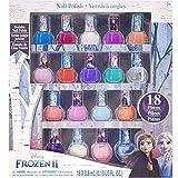 Frozen - Juego de 18 esmaltes de uñas no tóxicos (Frozen)