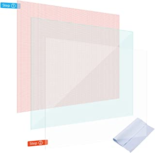 NAmobile Skyddsfilm kompatibel för Samsung Galaxy Tab S6 skärmskydd 2 x universal pansarfilm