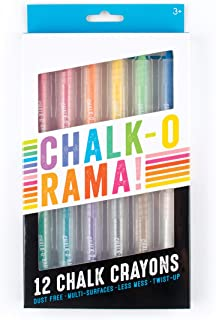 OOLY, Chalk-O-Rama, Set of 12 Chalk Crayons