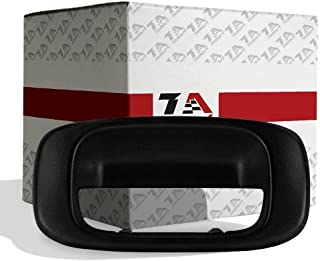 T1A Tailgate Handle Bezel Replacement for 1999-2007 Chevy Silverado and GMC Sierra, Also Fits 1500, 2500, 3500 HD Pickup Truck, Black Color, T1A-15228539
