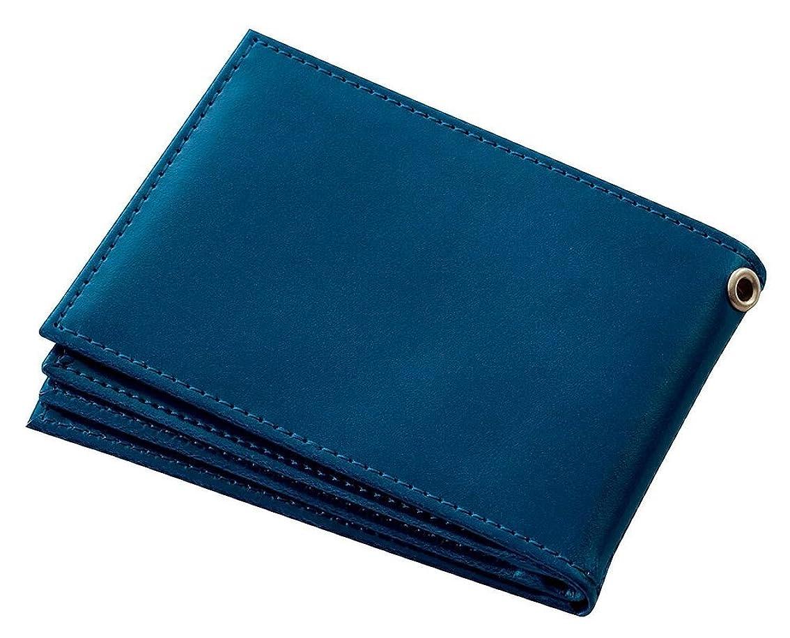 むしろ接辞グロー(まとめ買い) レイメイ藤井 ライセンスカードケース グロワール ブルー 合皮 GLP9007A 【×3】