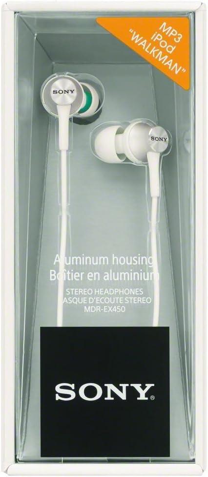 Sony Mdr Ex450w Geschlossene In Ear Kopfhörer Weiß Elektronik