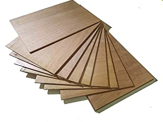 10x A3contrachapada Marino okume '–4mm–fenolico Tabla Madera Paneles hojas lastre–Resistente al agua, perfecto para pirograbado, modelar, traforare, Sierra de rieles, 420x 300x 4mm