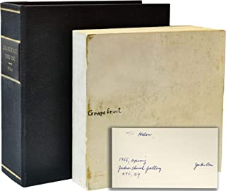 Grapefruit (First Edition, inscribed at the Judson Church Gallery opening, 1966)