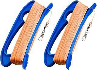 Mint'sColorfulLife Kite String with Handle,300ft Line for Each Spool,2 Pack