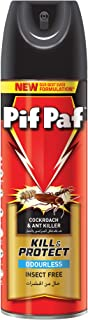 Pif Paf Oderless Cockroach and Ant Killer, Crawling Insect Killer Spray, 300ml