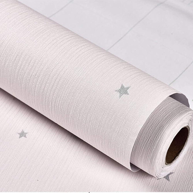 改革未払い農学家の壁のステッカー、自己接着壁紙、寝室の居間の防水壁紙の壁紙、0.6 * 10 M (Color : Pink, Size : 0.6*10m)