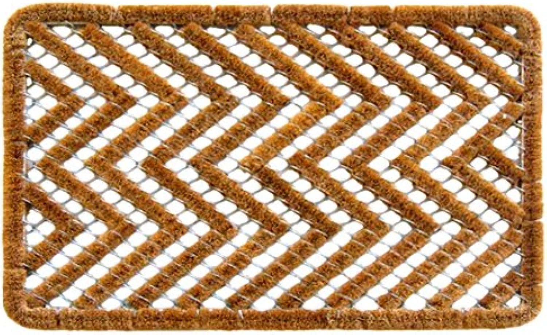 Imports Decor 850SDM Spiral Doormat, Zigzag, 16 x 24