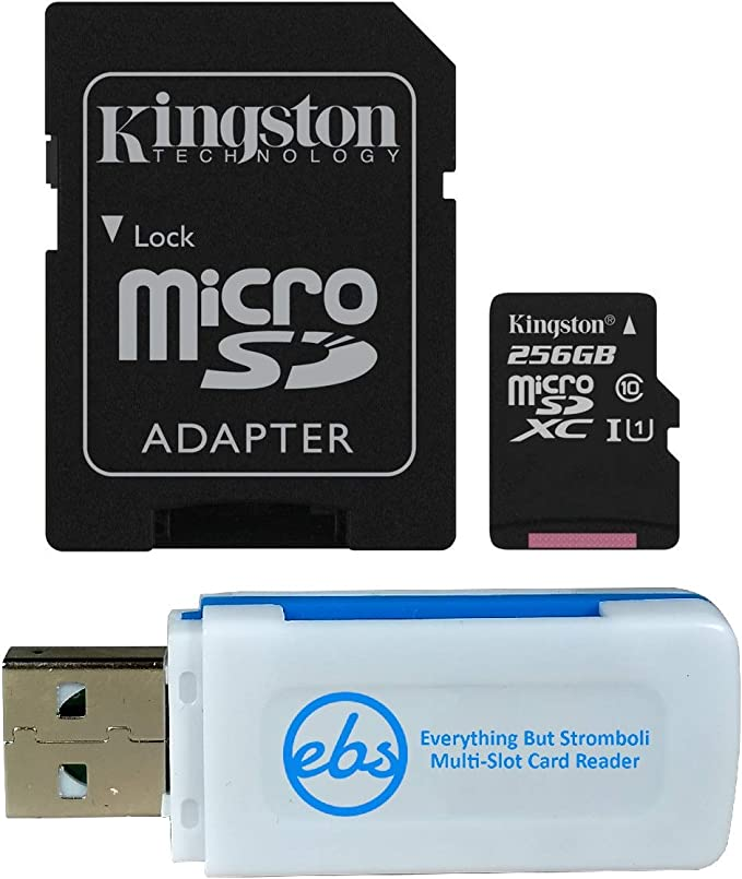 100MBs Works with Kingston Kingston 64GB Micromax Bolt A069 MicroSDXC Canvas Select Plus Card Verified by SanFlash.
