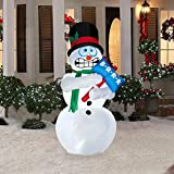 Shivering Snowman - 6 Feet Tall - Shivers and Shakes