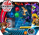 Bakugan, Battle Pack 5-Pack, Darkus Cyndeous and Aurelus Trox, Collectible Cards and Figures, for Ages 6 and Up