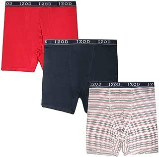 Men's Big & Tall Boxer Briefs (3-Pack)