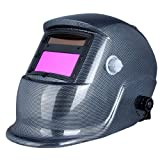 KKmoon 自動遮光溶接面 溶接ヘルメット 溶接マスク 自動フィルター アーク ティグ ミグ 研削 太陽光発電