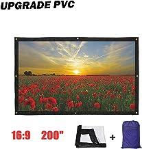 Premium 4 3-Filme Projektionsleinwand Audiovisuelle Leinwand TOPmountain 100-Zoll-Projektionsleinwand Filmleinwand