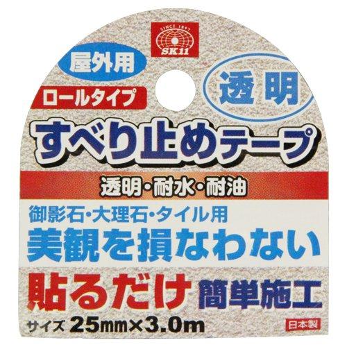 藤原産業『SK11すべり止めテープR屋外用トウメイ(4977292876773)』