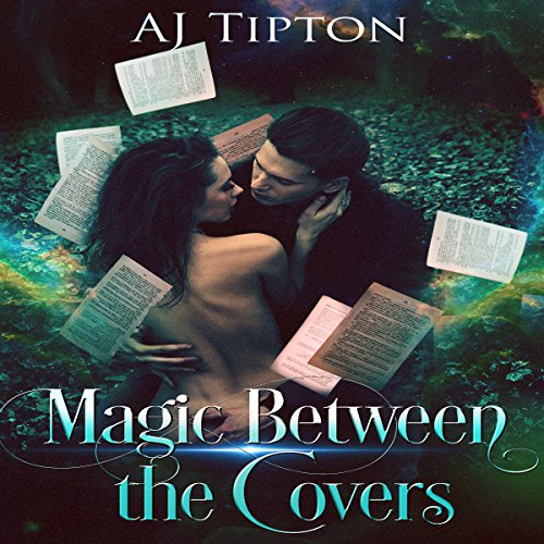 Magic Between the Covers audiobook cover art