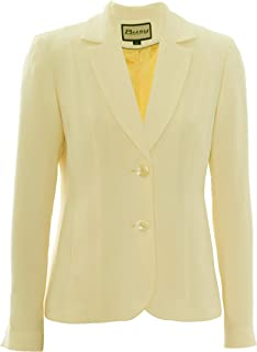 506a029db11 Amazon.co.uk: Yellow - Suits & Blazers / Women: Clothing