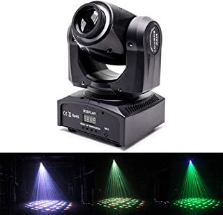 U`King Moving Head Light 60W DMX512 4 in 1 Color Stage Lighting Kaleidoscope Gobo Patterns Wash Lights by Sound Activated Control Professional 14/16CH for Wedding DJ Disco Party Show