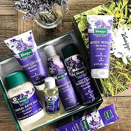 Lavender bath gift set, Relaxing bath gift for women, gift for mom