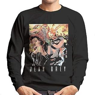 Marvel Jean Grey Collage Men's Sweatshirt