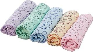 Guangtou Microfiber Kitchen Towels Set, 5 Pieces - Multi Color