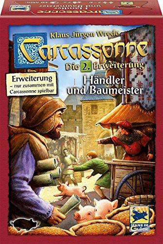 Schmidt Spiele Hans im Glück 48255 - Carcassonne, Händler und Baumeister, Erweiterung 2