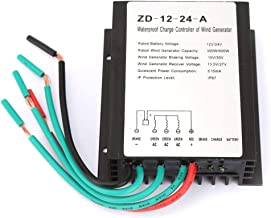 Charge Controller, DC12V 24V 300W 600W Wind Generator Load Regulator, IP67 Waterproof, Three-Phase Charging Algorithm, MOS Power Electronic Switch