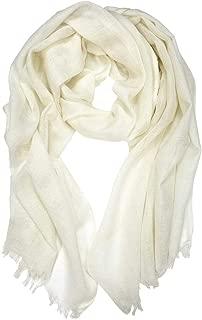 DIY White Plain Merino Wool Scarf - 100% Merino Wool Solid White Scarf - Nuno Wet Felting Project - Shibori - Eco Print - Printing - Embroidery - Other Fiber Crafts - Felting Supplies Store