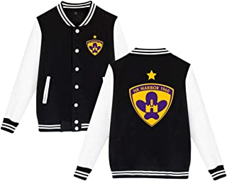 UEFA NK Maribor Sportswear Jacket Men Women Bomber Jacket,Black,3XL