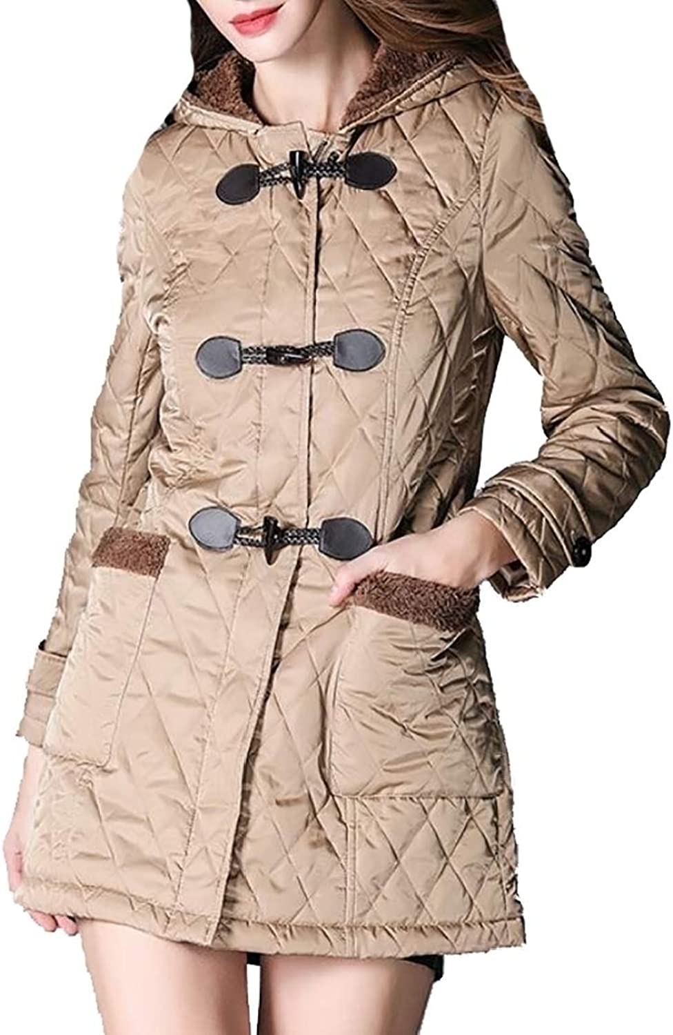 Alion Womens Packable Quilted Down Jacket Lightweight Puffer Coat
