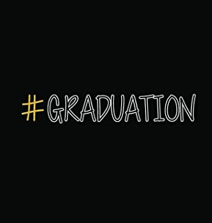 #graduation, Graduation Sign Book, Memory Keepsake Signing Book, Highschool, College, Congratulatory, Graduation Party Guest Book, School Leavers, ... and Predictions, Teacher Sign Book (Hardback)