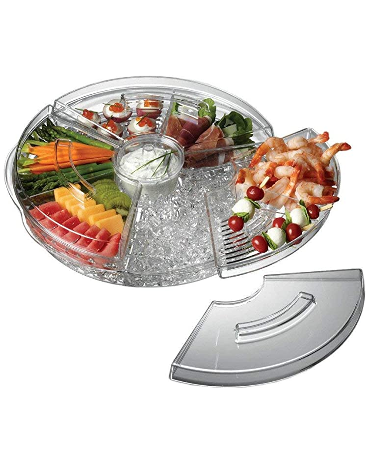 Prodyne AB-5-L Appetizers On On Ice with Lids, 16