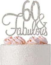 Best 60th bday cake toppers Reviews