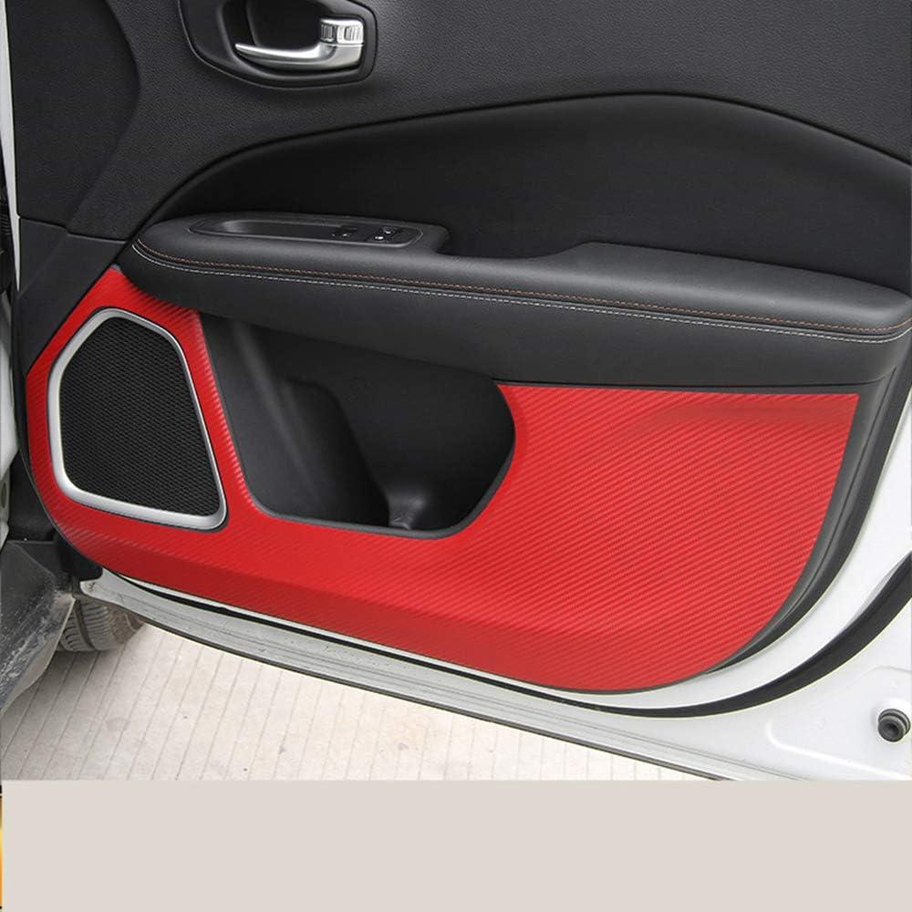 LUVCARPB Translated Carbon Fibre Selling Doors Panel Protective Pad S Mat Anti-Kick