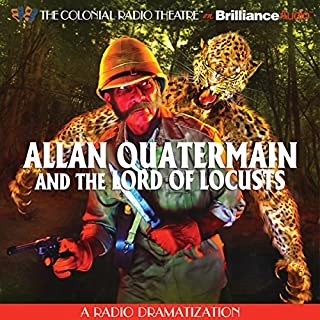 Allan Quatermain and the Lord of Locusts cover art