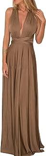 Convertible Warp Maxi Dress Multi Way Wear Party Wedding Bridesmaid Long Dresses