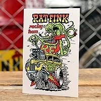 ラットフィンク ステッカー RatFink USA Racing Team_SC-RDUSA006-MON