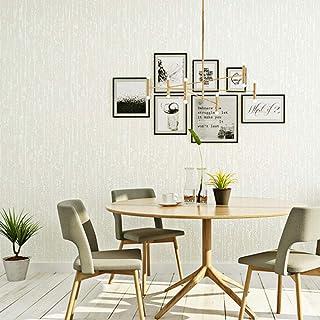 ソリッドカラー3Dエンボス加工の壁紙、モダンな群がって不織布ロール紙のリビングルーム、寝室の壁のための壁紙400 cm(W)x 250 cm(H)
