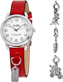 Coach Delancey Quartz Movement White Dial Ladies Watch 14502814