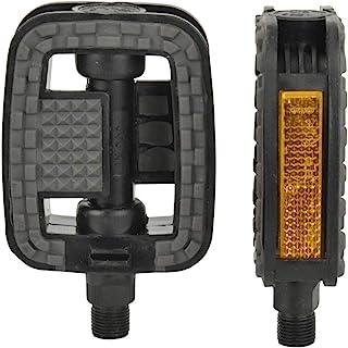 Fischer pedalen met anti-slip en reflectoren, geschikt voor alle fietstypes, zwart